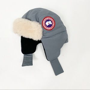 Canada Goose Youth Boys Girls Down Avaitor Hat